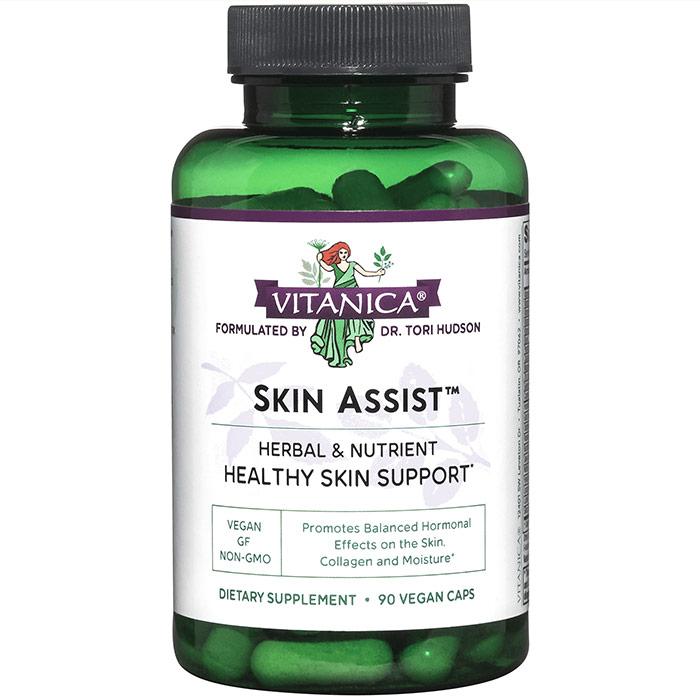 Skin Assist, 90 Vegetarian Capsules, Vitanica