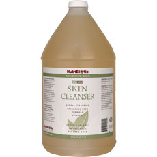 Skin Cleanser Non-Soap, Sensitive Skin, Economy Size, 1 Gallon, NutriBiotic