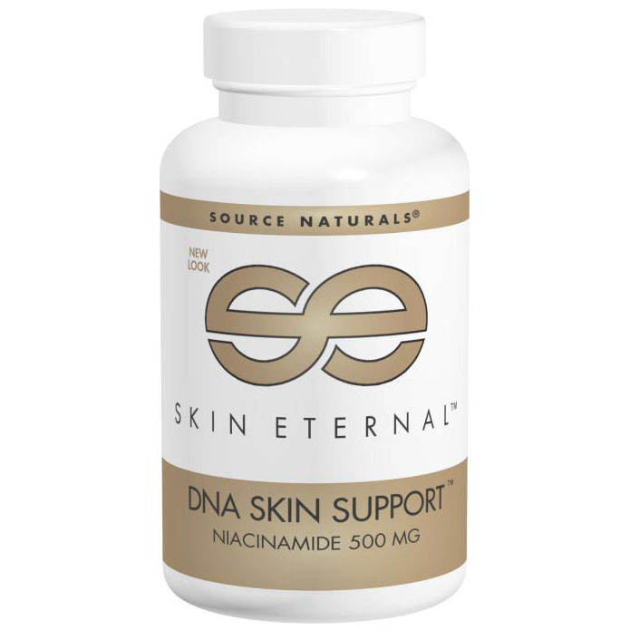 Skin Eternal DNA Skin Support 500 mg, 60 Tablets, Source Naturals