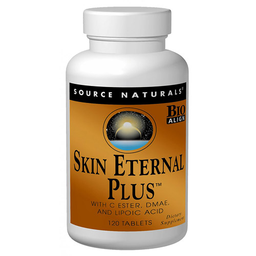Skin Eternal Plus, Multi-System Skin Support, 30 Tabs from Source Naturals