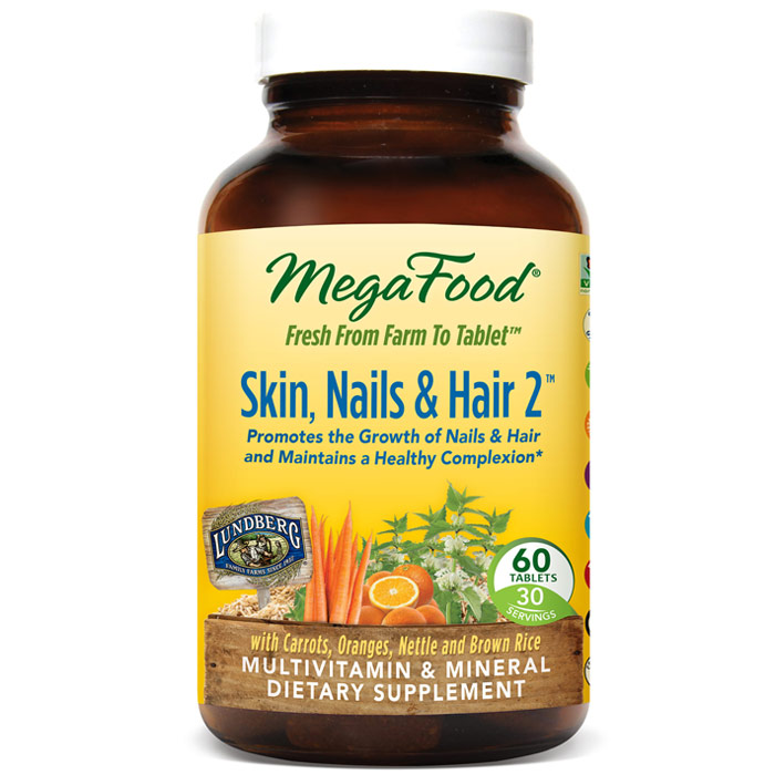 Skin, Nails & Hair 2, 60 Tablets, MegaFood