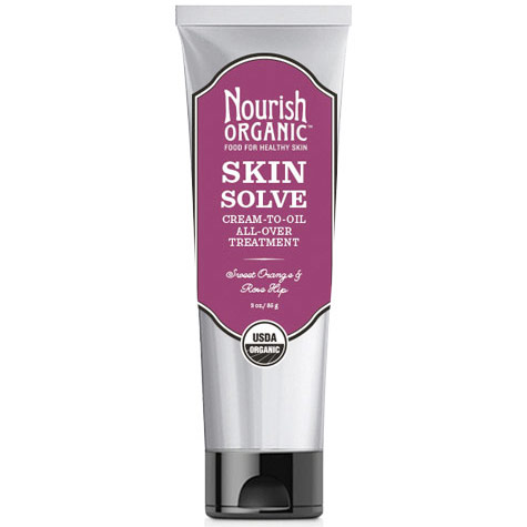 Skin Solve, Cream-To-Oil All-Over Treatment with Sweet Orange & Rose Hip, 3 oz, Nourish Organic