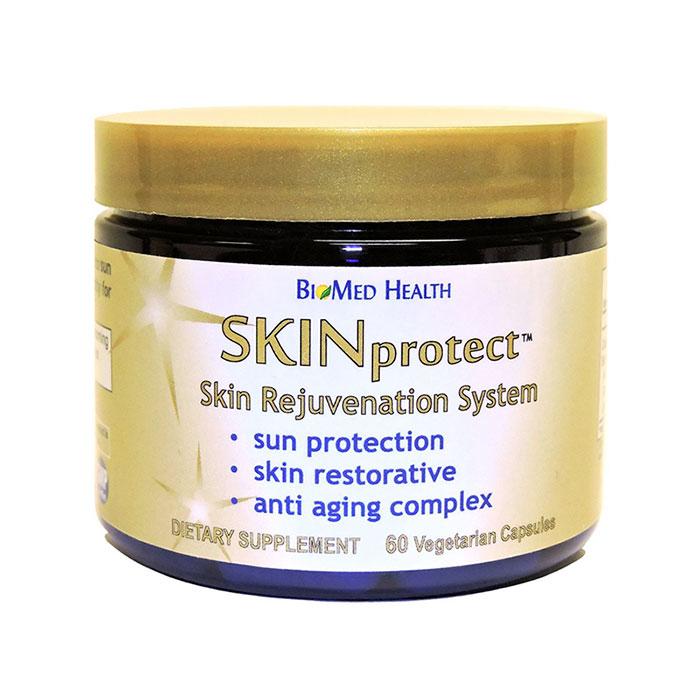 SKINprotect (Skin Protect Supplement), 60 Vegetarian Capsules, BioMed Health
