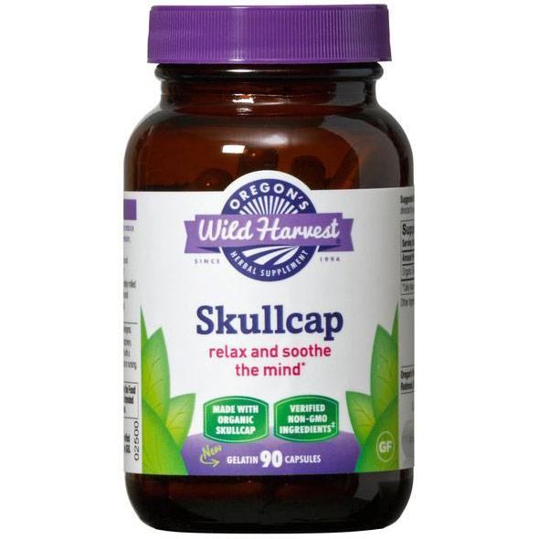 Skullcap, Organic, 90 Capsules, Oregons Wild Harvest