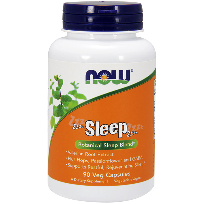 Sleep, Botanical Sleep Blend, 90 Vegetarian Capsules, NOW Foods