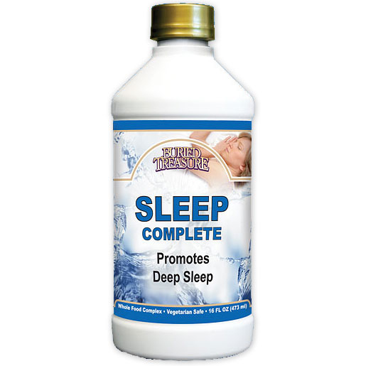 Sleep Complete, Natural Support Liquid, 16 oz, Buried Treasure Liquid Nutrients