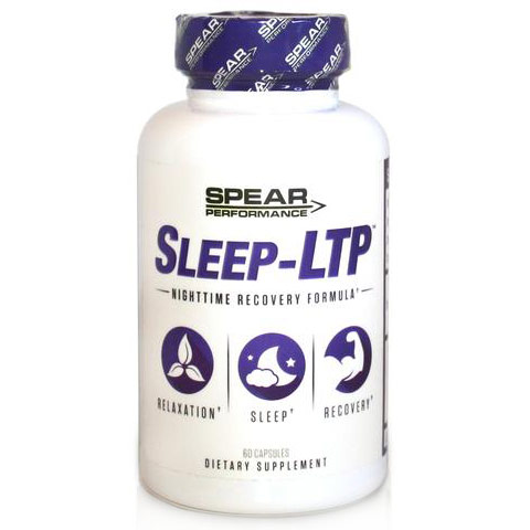 Sleep-LTP, Nighttime Recovery Formula, 60 Capsules, Spear Performance