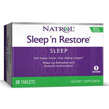 Sleep N Restore 20 Tablets from Natrol