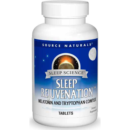 Sleep Science Sleep Rejuvenation, 30 Tablets, Source Naturals