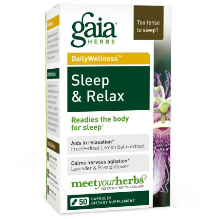 Sleep & Relax, 50 Liquid Phyto-Caps, Gaia Herbs