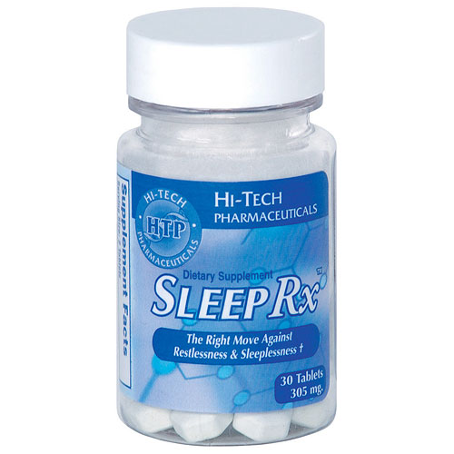 Sleep-Rx ( Sleep Rx ) Promotes Normal Sleep, 30 Tablets, from Hi-Tech