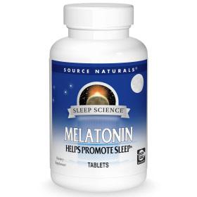 Sleep Science Melatonin 5 mg, Mixed Berry, 60 Gummies, Source Naturals