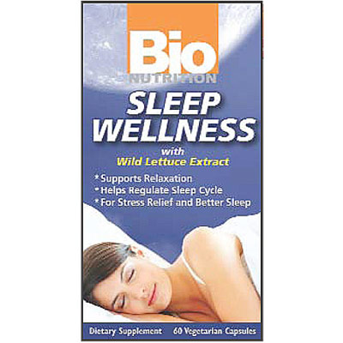 Sleep Wellness, 60 Vegetarian Capsules, Bio Nutrition Inc.