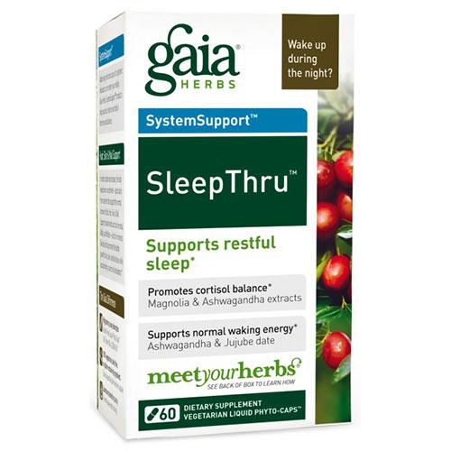 SleepThru, 30 Liquid Phyto-Caps, Gaia Herbs