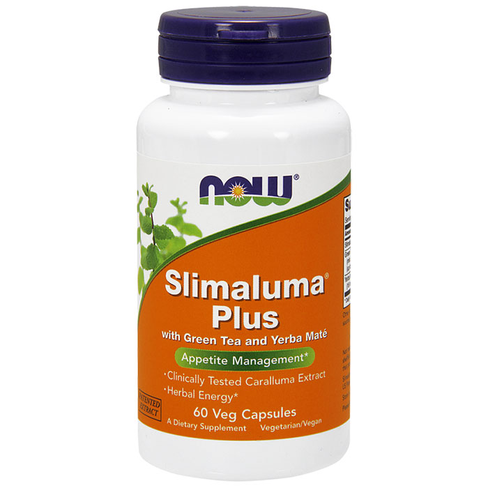 Slimaluma Plus, Appetite Control & Diet Energy, 60 Vcaps, NOW Foods