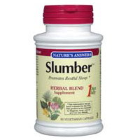 Slumber (Sleep Aid) 50 vegicaps from Nature's Answer