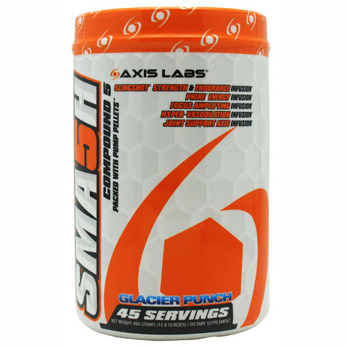 Smash Pre-Workout, Strength and Endurance, 495 g, Axis Labs - CLICK HERE TO LEARN MORE