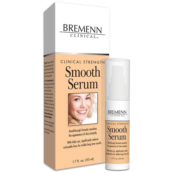 Clinical Strength Smooth Serum, 50 ml, Bremenn Research Labs