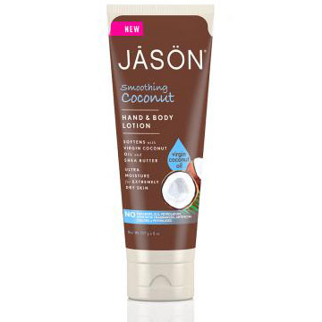 Smoothing Coconut Hand & Body Lotion, 8 oz, Jason Natural