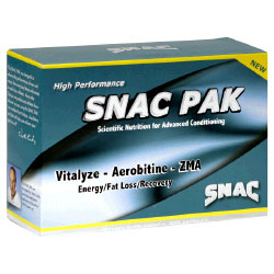 Snac Pak - Vitalyze/Aerobitine/ZMA, 3 Bottles, SNAC System (Vitamins Supplements - ZMA)