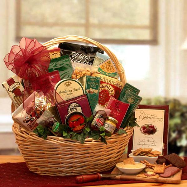 Snack Attack Gift Basket, Medium Size, Elegant Gift Baskets Online