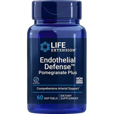 Endothelial Defense Pomegranate Complete, 60 Softgels, Life Extension