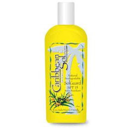 Sol Guard SPF 15, Biodegradable Sunscreen, 6 oz, Caribbean Solutions