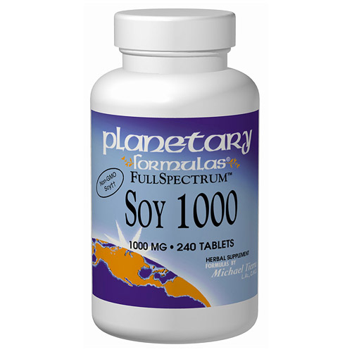 Soy 1000 (Soy Isoflavone) Full Spectrum 60 tabs from Planetary