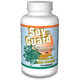 Image of Soy Guard 500mg 80 Capsules, Biotec Foods