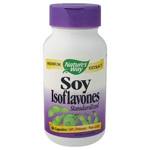 Soy Isoflavone Extract Standardized 60 caps from Nature's Way