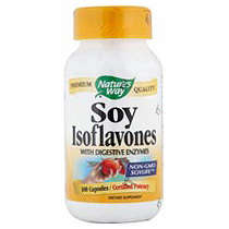 Soy Isoflavones with Digestive Enzymes 100 caps from Natures Way