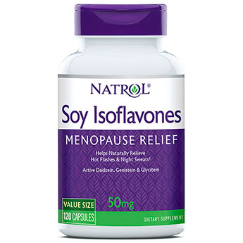 Soy Isoflavones 120 caps from Natrol