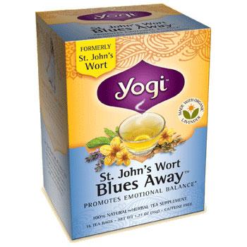St. John's Wort Tea Blues Away 16 Tea Bags from Yogi Tea