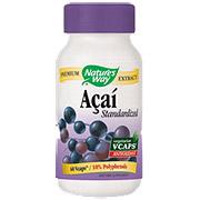 Standardized Acai, 60 vegicaps from Natures Way