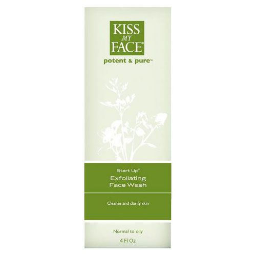 Start Up Exfoliating Face Wash, 4 oz, Kiss My Face