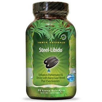 Steel-Libido for Men, 150 Liquid Softgels, Irwin Naturals