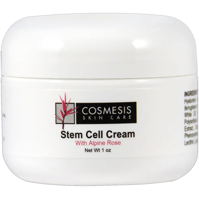 Cosmesis Stem Cell Cream with Alpine Rose, 1 oz, Life Extension