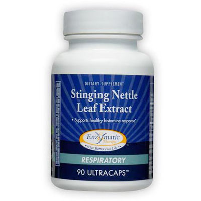 Stinging Nettle Leaf Extract, 90 Veg Capsules, Enzymatic Therapy