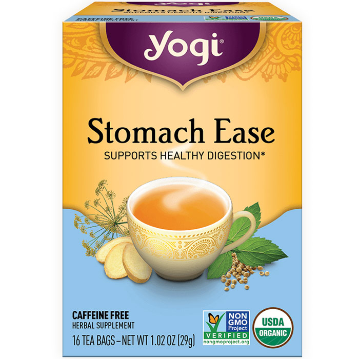 Stomach Ease Tea 16 tea bags from Yogi Tea