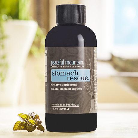 Stomach Rescue Liquid Supplement, 4 oz, Peaceful Mountain