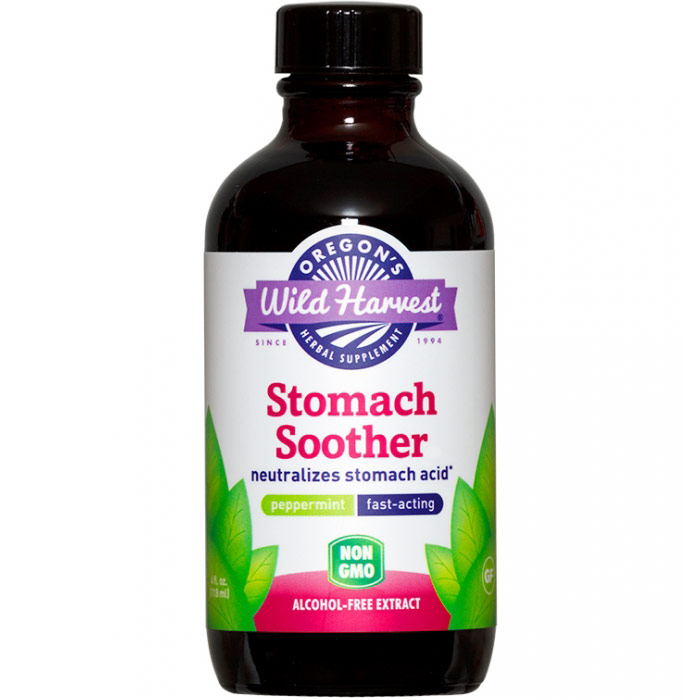 Stomach Soother, 4 oz, Oregons Wild Harvest