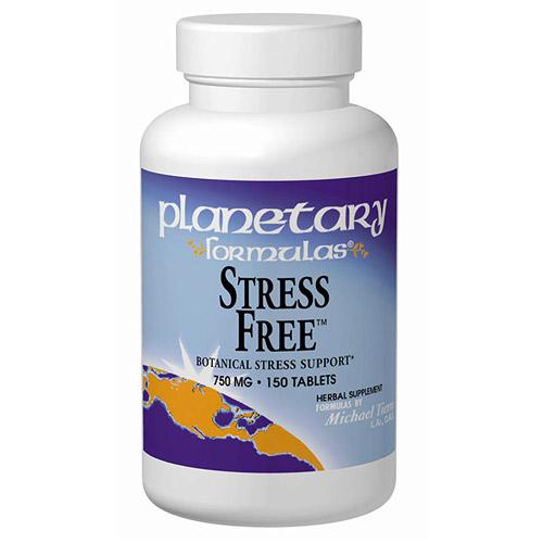 Stress Free Calming Formula 810mg 60tabs, Planetary Herbals