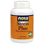 Stress Plus Vegetarian 100 Tabs, NOW Foods