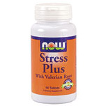 Stress Plus Vegetarian 50 Tabs, NOW Foods