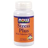 Stress Plus Vegetarian 50 Tabs, NOW Foods