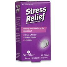 Stress Relief 60 tabs, NatraBio (Natra-Bio)