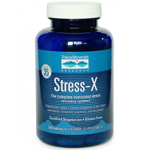 Stress-X (Nutritional Stress Recovery), 120 Tablets, Trace Minerals Research