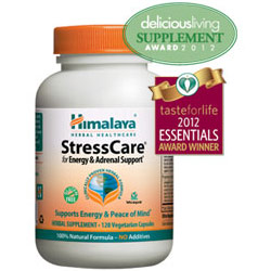 StressCare, For Energy & Adrenal Support, 120 Vegetarian Capsules, Himalaya Herbal Healthcare