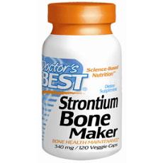 Strontium Bone Maker 340 mg, 120 Veggie Caps, Doctors Best