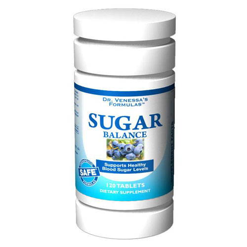 Sugar Balance Support, 120 Tablets, Dr. Venessa's Formulas - CLICK HERE TO LEARN MORE